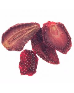 Organic Dried Strawberries - Sulphur Free - Unsweetened