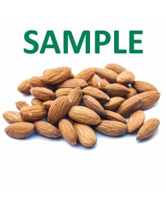 Unpasteurized Almonds - 6 Ounce Sample - Free Shipping!