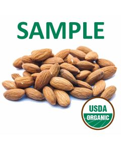 Organic Unpasteurized Almonds - 6 Ounce Sample - Free Shipping!